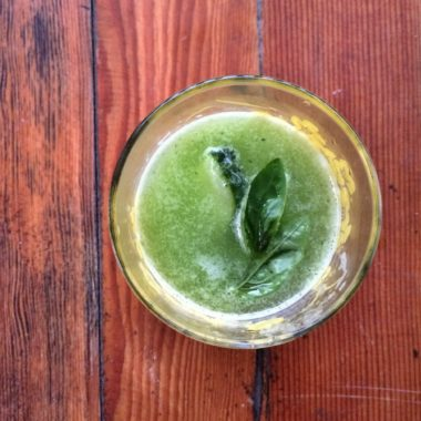 Cucumber-Basil  Cooler