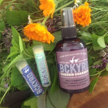 BCKYRD: A Slice of the Garden for your Skin