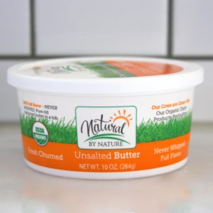 Natural by Nature Unsalted Butter