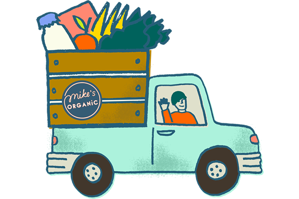 Mike's Organic Delivery Food Service