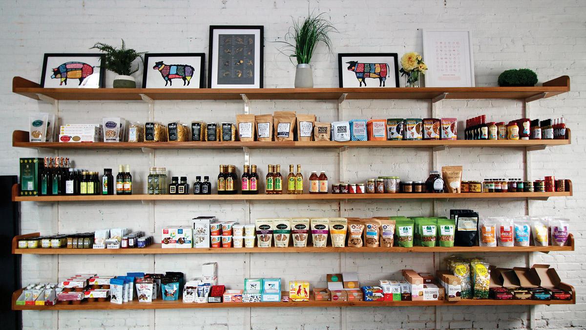 Market Shelves